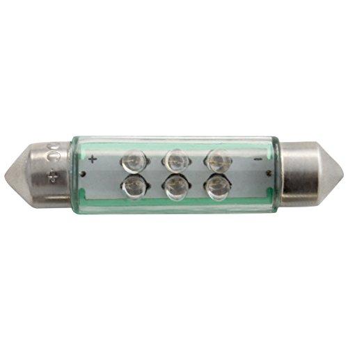 Dectane s44g LED Soffitte, 2 LED, 44 mm, vert