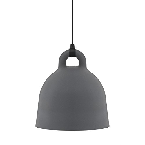 Normann Copenhagen Pendelleuchte Bell medium, grau 502112 -