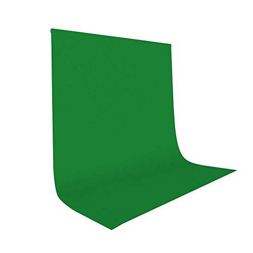 UTEBIT 1.5x2M Greenscreen Faltbar für Film Shooting Background Backdrops Photography Green 100% Polyester Grün Hintergrund...