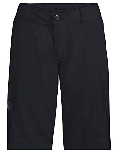 Vaude Damen Ledro Shorts für den Radsport Hose, Black, 40