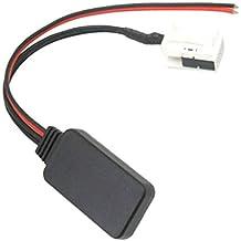 F Fityle Cable Auxiliar Adaptador de Entrada de Audio Módulo Bluetooth 4.0, Repuestos para Peugeot