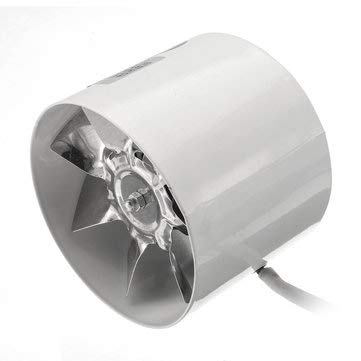CCChaRLes 4 Zoll/6 Zoll Booster Fan Inline Duct Vent Gebläse Lüfter Lüfter Werkzeuge - 4 -