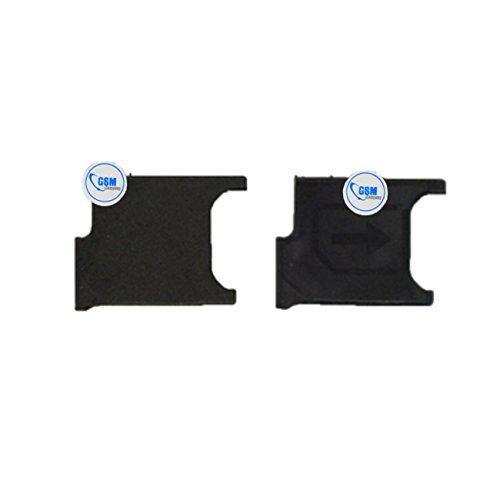 2X Sim Card titolare Tray Adattatore Slitta Holder per Sony Xperia Z2D6503Nero # itreu