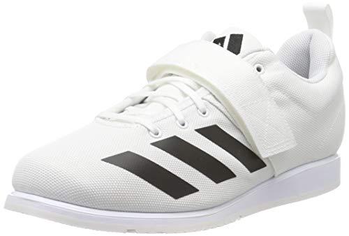 adidas Herren Powerlift 4 Fitnessschuhe, Weiß (FTWR White/Core Black/FTWR White FTWR White/Core Black/FTWR White), 43 1/3 EU