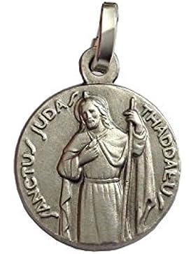 Medaille des heiligen Judas Thaddäus Sterling Silber 925