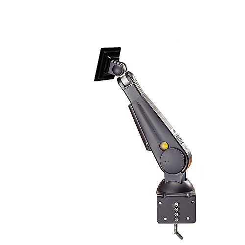 Mount Tft-lcd (NewStar FPMA-D100BLACK Flatscreen Desk Mount für LCD/TFT (60 cm (24 Zoll), Belastbarkeit: 10Kg))