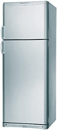 Indesit 415 Liters No Frost Refrigerator, Made in Turkey, Silver - F061784