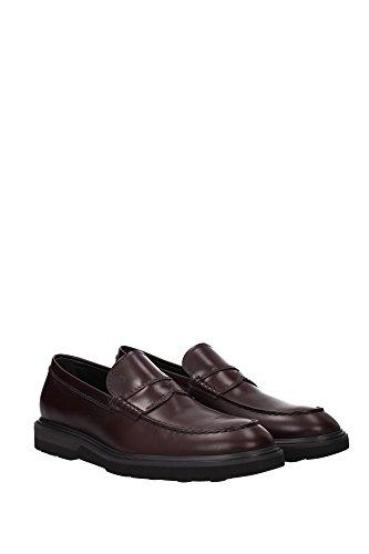 Tod's Herren Loafers Rot Leder Xxm0ze0q730brxr801 8q7wOx