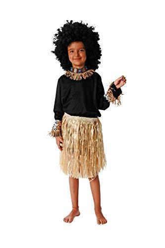 Costumizate!. costume di africano taglie diverse per bambini feste di travestimenti o carnevale