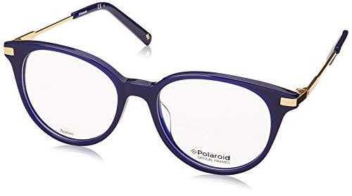 Polaroid Brille (PLD-D352 PJP) Acetate Kunststoff - Metall blau - gold