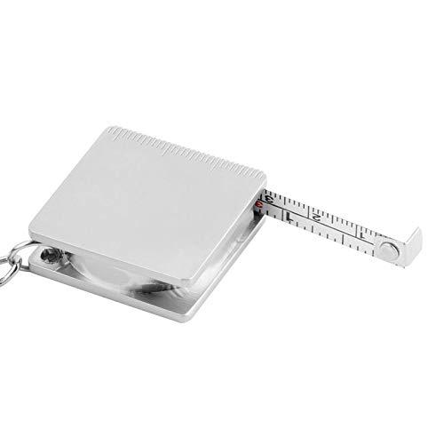 Zoom IMG-1 portachiavi in metallo misura retrattile