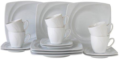 Creatable, 13161, Serie CELEBRATION, Geschirrset Kaffeeservice 18 teilig