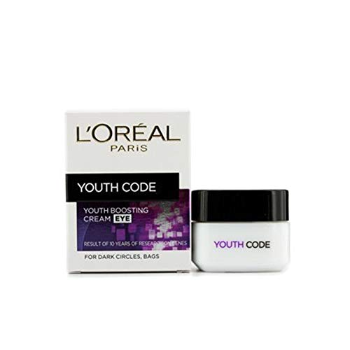 L'Oreal Skincare Youth Code Augencreme, 3 x 15 ml, 3er-Pack