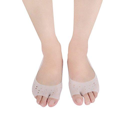 Healifty Unsichtbare rutschfeste atmungsaktive Socken Silikon Gel feuchtigkeitsspendende Socken...