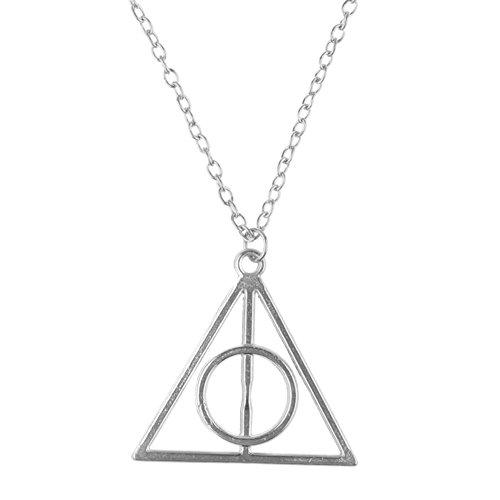 Cadena con colgante de «Harry Potter y las reliquias de la muerte»,