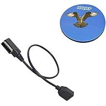 HQRP Cable de conexión USB AMI / MMI / USB stick MDI para Volkswagen VW Golf