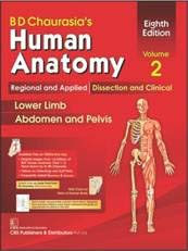 Bd Chaurasia's Human Anatomy, Volume 2: Regional and Applied Dissection and Clinical: Lower Limb, Abdomen and Pelvis