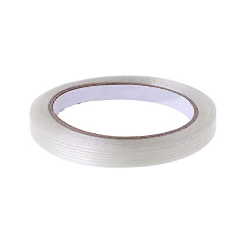 Wuweiwei12 Transparentes Streifenband Ripstop Faserband wasserdichtes Reparaturband für Drachenmarkise Zelte Segelbrett Leckrohr 1cm*20m -