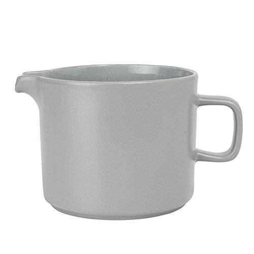 Blomus - MIO - Kanne - Mirage Grey - Keramik - H: 12.5 cm/T: 20 cm - Ø 14 cm - Volumen: 1000 ml