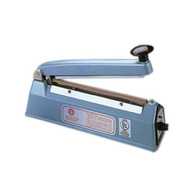 8 in. 260W Impulse Hand Sealer with Spare Kits, 0.1 in. Seal Width by Sealer Sales