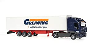 Reitze Rietze 60853 Iveco Stralis Greiwing - Camión