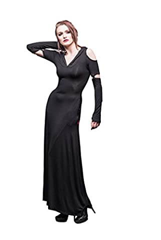 Queen of Darkness - Langes, schulterfreies Kleid mit Kapuze (Esprit Schmuck Outlet)
