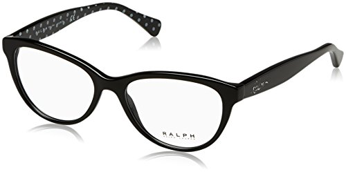 Ralph by Ralph Lauren - RA 7075, Schmetterling, Acetat, Damenbrillen, BLACK(501), 52/16/140