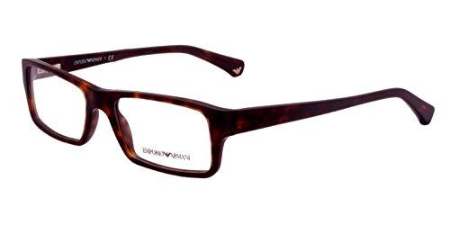 Emporio Armani Rectangular Sunglasses (Brown) (EA509BR52) image