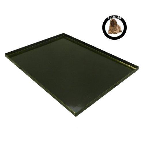 Ellie-Bo Bodenplatte für Hundekäfige, Metall, GrößeL, 91,4cm, Schwarz (Dog Tray Cage)
