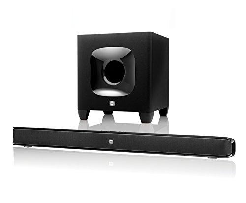 JBL Cinema SB 400 Heimkino 2.1 Soundbar-System (Wireless Bluetooth Soundbar, Subwoofer) schwarz (Jbl Sound Bar Wireless)