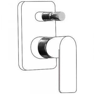Preisvergleich Produktbild Drei Armatur 20018010komposit für Armatur Unterputz Bad  Dusche