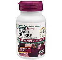 Herbal Actives, Black Cherry, Extended Release, 750 mg, 30 Tablets by Natures Plus