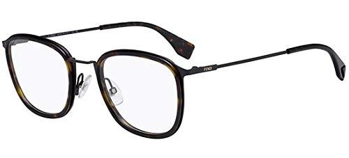 Fendi Herren FF M0024 086 51 Sonnenbrille, Braun (Dark Havana),