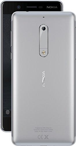 nokia 74149 13,20 cm (5,2 Zoll) 5 Smartphone (13MP Kamera, LTE, 4G) Silber (Nokia Gsm 4g)
