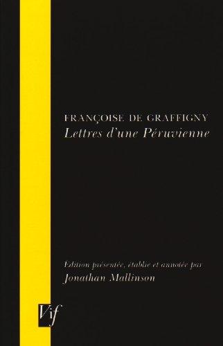 Lettres D'une Peruvienne (Vif)