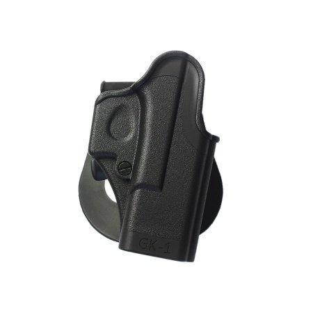 New Schwarz imi-8010One Piece Holster für Glock 25/26/27/28/31/32Pistols Generation 4Kompatibel–GRATIS