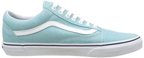 Vans UA Old Skool, Sneakers Basses Homme Bleu (Washed Canvas Blue Radiance/crown Blue)