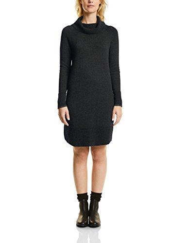 CECIL Damen Kleid 140573, Grau (Graphit Grey Melange 10602), Large