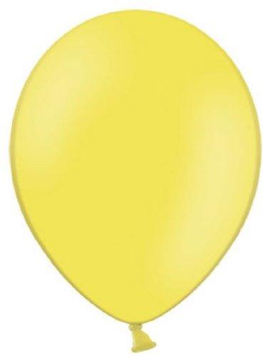 Qualitätsballons Ø ca. 27cm B85 (Standardgröße) (Gelb Ballon)
