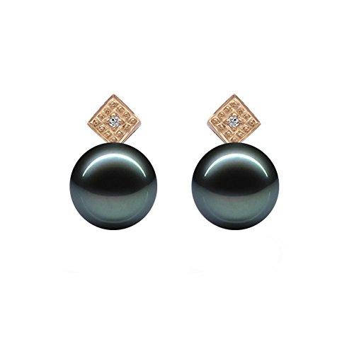 Original McPearl Diamant Akoya Perlen Ohrringe. Top Qualität aus Deutschland.