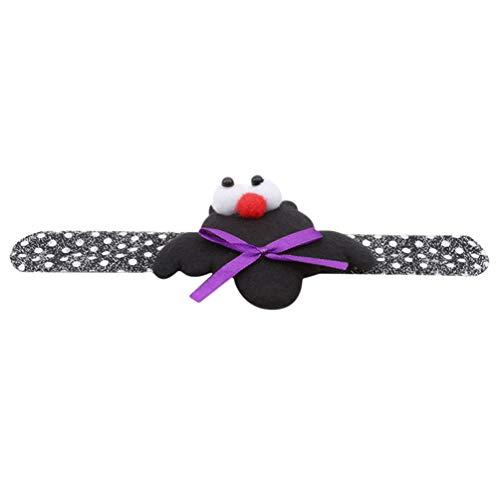 KYMLL Armbänder Kürbis Geist Geeignet für Erwachsene Kinder Halloween Maskerade Party