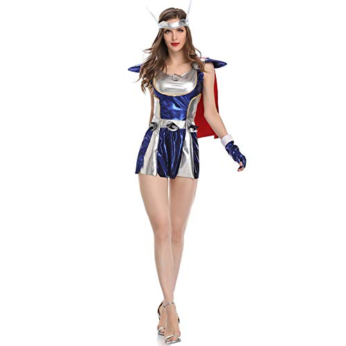 ASJUNQ Halloween Superman Thor Cosplay Kostüm Frau Ärmellos Trägerlos Jumpsuit Party Filmrequisiten 3D-Digitaldruck (Halloween Spider Frau Kostüm)
