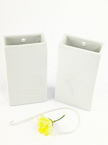 Abc_baño Humidificador de Porcelana Blanco 2 Unidades