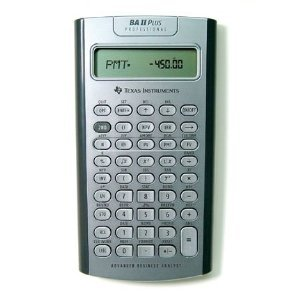 Texas Instruments TI-BA II Plus Professional