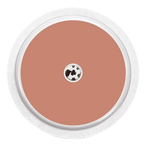 Haut - Sticker Aufkleber für FreeStyle Libre Sensor Farbe dunkel