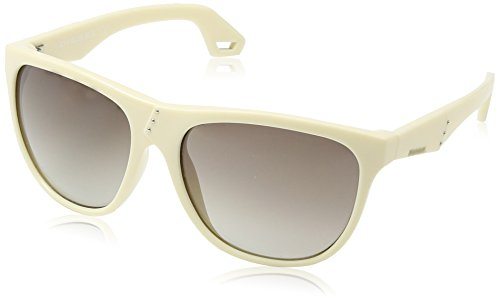 Diesel - occhiali da sole dl0002 wayfarer, grigio (ivory frame /gradient grey)