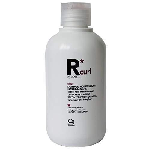 Scheda dettagliata R*System Curl - Shampoo Ricostruzione Ultraidratante - Shampoo Professionale Idratante per Capelli Ricci, Mossi e Crespi con Principi Attivi Naturali - 275 ml