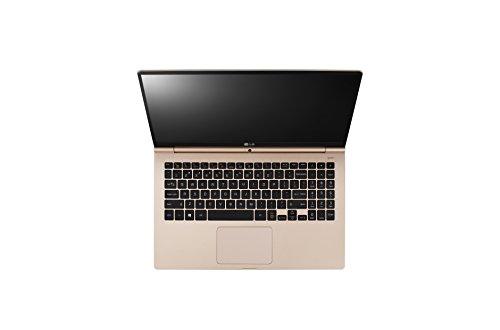 LG Gram 15Z960-G Laptop (Windows 10, 8GB RAM, 256GB HDD, Intel Core i5, Gold, 15 inch)