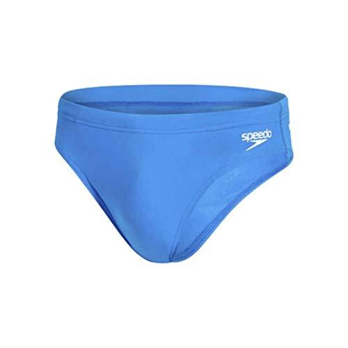 Speedo Herren Sportsbrief Essential Endurance+ 7cm, Blau , D6 - Plus-slip