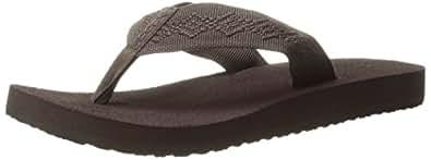 Reef  Sandy Black/black,  Damen Sandalen , braun - braun - Größe: 37,5 EU